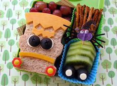 Send your kids to school with a spooky Halloween-themed lunch.