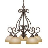 Found it at Wayfair - Beacon 5 Light Nook Chandelier