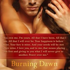 CONTEST  Teaser Monday: Burning Dawn by Gena Showalter!!!