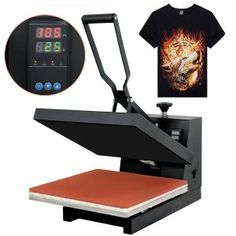 f83f83fc Super Deal PRO Digital Heat Press Clamshell Sublimation Transfer Machine  for T-Shirt Super Deal