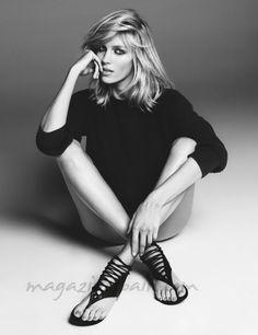 Anja Rubik (nacida el 12 de junio de 1983 en la ciudad de Rzeszów, Polonia) http://www.magazinespain.com/anja-rubik/