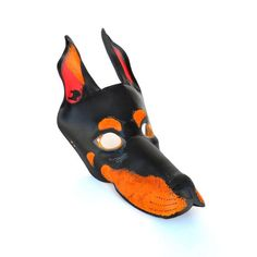 Doberman Dog Mask Halloween Costume Leather Masks Pet Animal Horn Snout Black Wild Savage Party Mard Baby Puppies, Puppies For Sale, Dogs And Puppies, Doberman Pinscher Puppy, Doberman Dogs, Dog Mask, Puppy Names, Leather Mask, Savage