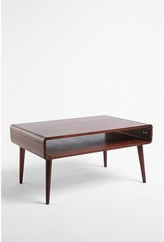 This coffee table is a great take on mid-century modern design. I love how it can store so much inside while maintaining a clean, streamlined look.
