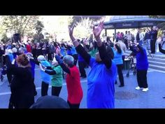 Seniors Flash Mob