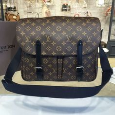 Louis Vuitton Christopher Monogram Canvas Macassar Messenger Bag Fall/Winter 2016 Collection M41643 - My Luxe Fashions