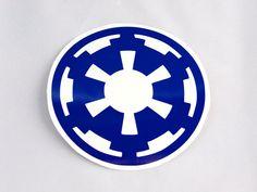 Star Wars Galactic Empire Roller Derby Helmet Vinyl Sticker / Vinyl Decal on Etsy, $4.00