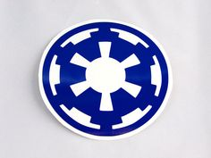 Star Wars Galactic Empire Roller Derby Helmet Vinyl Sticker / Vinyl Decal on Etsy, $4.00