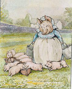 """Beatrix Potter articolo di Lilia   SECONDA PARTE              Voglio raccontarvi la """"storia delle storie"""" di Beatrix Potter. Come si sa, ..."""