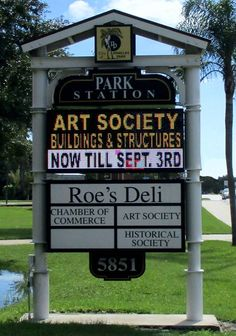 Full Color LED Sign, City Of Pinellas Park, FL