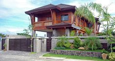 56 Ideas house exterior philippines architecture for 2019 Bamboo House Design, Tropical House Design, Tropical Houses, Philippine Architecture, Filipino Architecture, Architecture Design, Interior Exterior, Exterior Design, Modern Filipino House
