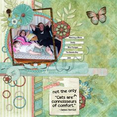 This is for Kotare's 2016 Art Journal #41 Challenge.  I used Balancing Act Quick Click, Funky Stuff Life, and Funky Stuff Love all by Carole's Share The Luv.