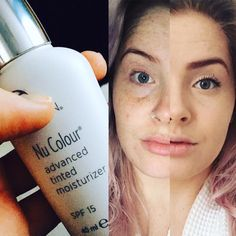 Megan Tinted Moisturiser in Honey ❤️❤️ I love it I get lots of compliments on my natural look foundation Bronzing pearls are a great finish too ( although not pictured)  Nu Skin, Face Skin, Moisturizer With Spf, Moisturiser, Bronzing Pearls, Best Skincare Products, Beauty Products, Skin Products, Beauty Over 40