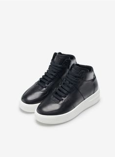 Buttoned sneakers - View All - Footwear - Uterqüe United Kingdom