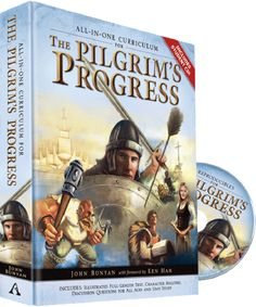 Great for homeschool, family devotions, Sunday schools, and personal or small group studies! Includes reproducible student pages on bonus CD-ROM. The Pilgrim's Progress, Homeschool Curriculum, Homeschooling, School Plan, Bible Lessons, Science Projects, Small Groups, All In One, This Or That Questions