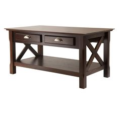 Winsome Xola Coffee Table with 2 Drawers - 40538