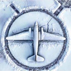 Frozen flight...