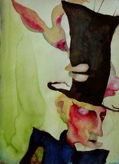 Marilyn Manson Art, the Mad Hatter