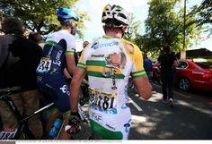 The torn jersey of Simon Gerrans (Orica-GreenEdge) Photo: © Tim de Waele/TDW Sport