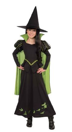 Wizard of Oz Halloween Sensations Wicked Witch of The West Costume,  #halloweenwitchcostume (75th Anniversary Edition)