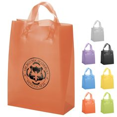 Custom Promotional Shopping Bags | Personalized Plastic Bags ...