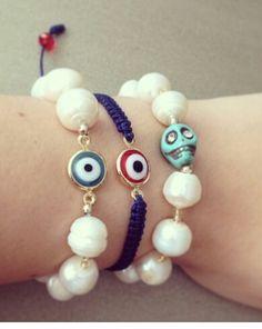 Perlas d rio y ojos turcos