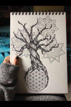 BMTH Sempiternal Tree Tattoo Design