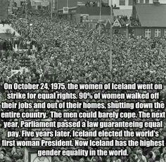 Gender equality and equal rights