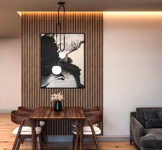 Wood Slat Ceiling, Wood Slat Wall, Wood Panel Walls, Wooden Slats, Wood Ceilings, Wood Wall Decor, Wood Paneling, Room Decor, Decorative Wall Panels