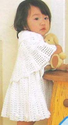 |How to crochet|: Crochet patterns| for free |Crochet baby dress| 20...