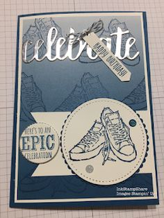 Inkstampshare. : Inspire Create Challenges #014 Epic Celebrations!...