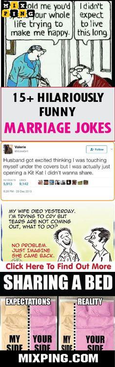 c54413829268b5 HILARIOUSLY FUNNY MARRIAGE JOKES  hilarious  funny  marriage  jokes   mixping  memes