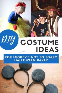 Going to Mickey's Not So Scary Halloween Party? If so, you need a costume that isn't hot or bulky. The best Disney costume ideas are creative AND comfortable! Disney Costume DIY | Disney Costume Ideas for Women | Disney Costume Ideas for Groups | Disney Costume Ideas for Teens | Disney Costume Ideas for Kids | Disney Not So Scary Halloween Costume Ideas Diy Halloween Decorations, Halloween Crafts, Halloween Party, Halloween Ideas, Disney Diy, Disney Ideas, Disney Crafts, Family Halloween Costumes, Scary Halloween