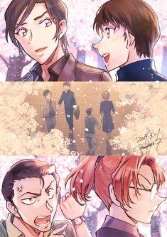 Detective, Detektif Conan, Kudo Shinichi, Case Closed, Magic Kaito, Tokyo Ghoul, Cartoon Characters, Animals And Pets, Fan Art