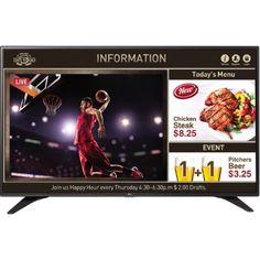 LG Electronics - 55LV640S - LG 55LV640S Digital Signage Display - 55 LCD - 1920 x 1080 - Edge LED - 1080p - Hdmi - USB -, As Shown
