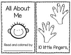 All About Me - Poem Book-goes with song/poem in reader