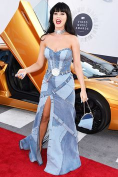 Katy Perry paid homage to Britney Spears in this infamous Versace denim dress