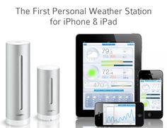 Estación meteorológica compatible con IOS