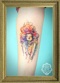 Tattoo: Candelaria Carballo  Would Tattoo