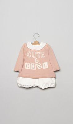 Conjuntos para bebé en la Tienda Online Nícoli Nicoli L1601005-bb Bebe