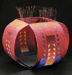 Jeanette Ahlgren   Concerto   Woven glass beads, wire