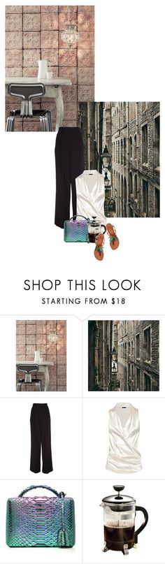 """""""Europe: classic, modern or bohemian, why not all three"""" by redheadlass ❤ liked on Polyvore featuring NLXL, Marc Jacobs, Donna Karan, Mark Cross, Primula, Tory Burch and modern"""