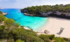 Cala Llombards in Santanyí, Mallorca, Spain. #travel #mallorca #balearics #spain #planyourescape #littlehotels