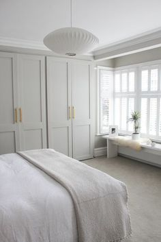 Neutral Bedroom Decor, Neutral Bedrooms, Trendy Bedroom, Tiny Bedrooms, Master Bedrooms, Bedroom Small, Small Rooms, Wardrobes For Bedrooms, Masculine Bedrooms