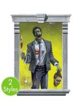 Zombie Window Decorations - Party City