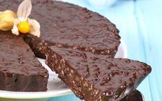 Tarte de chocolate e arroz tufado - Crocante e delicioso | VIP.pt