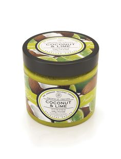 Coconut & Lime Tropical Fruits Sugar Scrub: Indulge yourself and melt into an exotic bliss with these full flavour sugar scrubs. Zestful and fruity fragrances will awaken the senses while the sugar granules leave your skin feeling fresh and looking radiant, removing impurities from the skin. Available for just £6.95 / $14.99 on our UK and US websites.