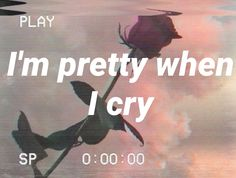 pretty when i cry / lana del rey Lana Del Rey Quotes, Lana Del Rey Lyrics, Red Aesthetic, Quote Aesthetic, Norman Rockwell, Pretty When You Cry, Sad Girl, Lyric Quotes, Music Lyrics