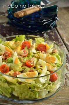 Sałata zkurczakiem Guacamole, Cobb Salad, Potato Salad, Potatoes, Mexican, Cooking, Ethnic Recipes, Food, Diet