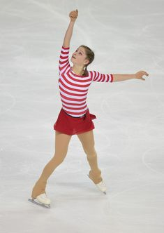 Julia Lipnitskaia of Russia performs during the Ladies Short program during day one of Trophee Eric Bompard ISU Grand Prix of Figure Skating at the Meriadeck Ice Rink on November 21, 2014 in Bordeaux, France.