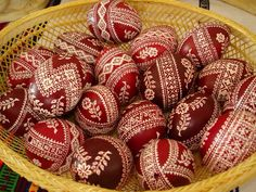 Beautiful Easter Eggs from Romania